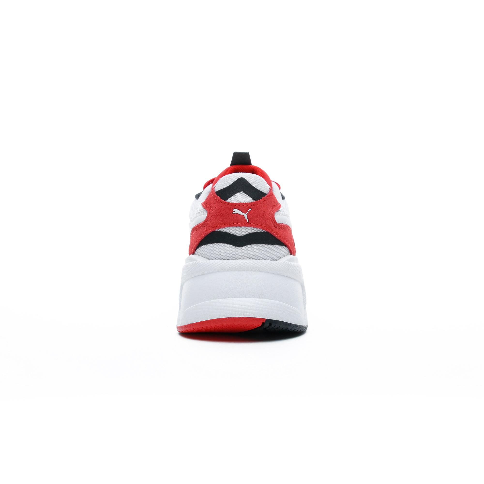 Puma RS-X³ Play Erkek Beyaz-Kırmızı Spor Ayakkabı