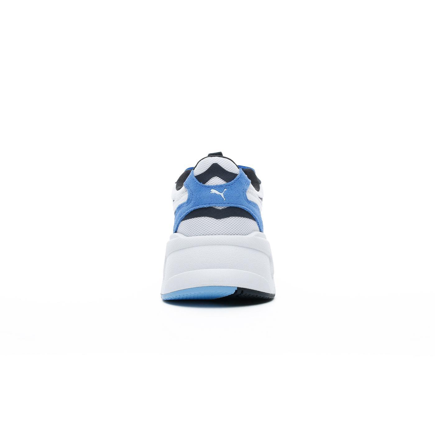 Puma RS-X³ Play Erkek Beyaz-Mavi Spor Ayakkabı