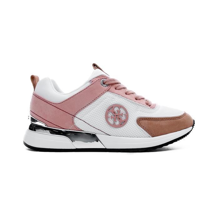 Guess Marlyn Kadın Beyaz-Pembe Spor Ayakkabı