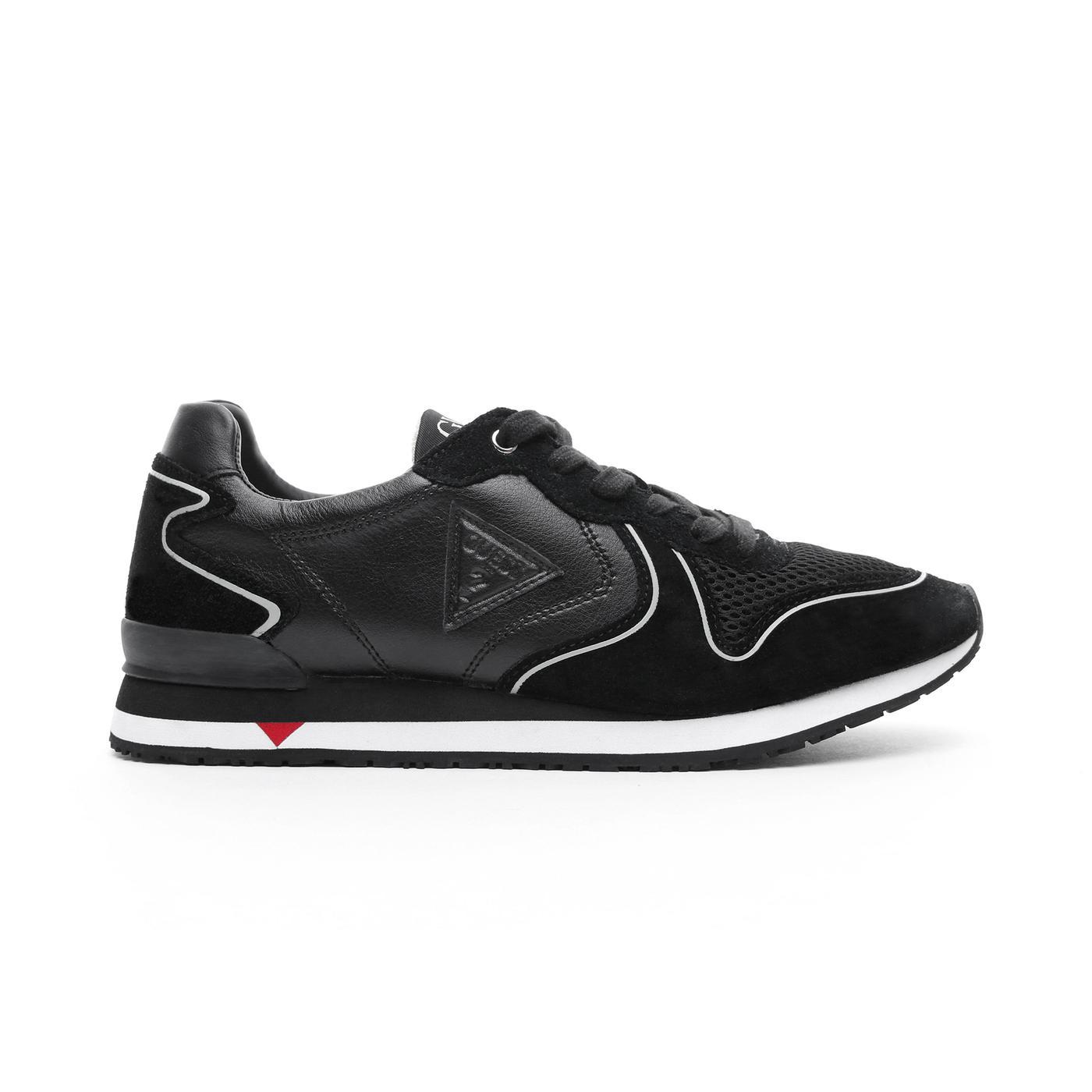 Guess New Glorym Erkek Siyah Spor Ayakkabı