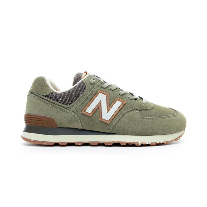 New Balance 574 Erkek Yeşil Spor Ayakkabı
