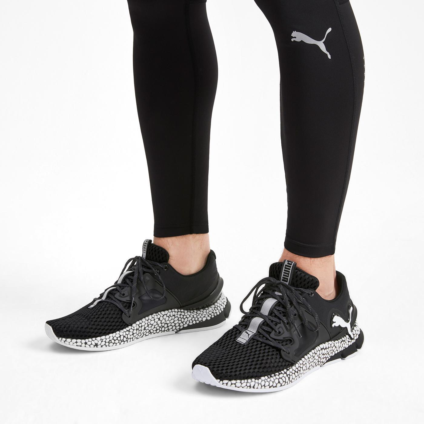 Puma Hybrid Sky Erkek Siyah Spor Ayakkabı