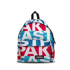 Eastpak Padded Pak'R Bold Wavy Unisex Mavi-Kırmızı Sırt Çantası