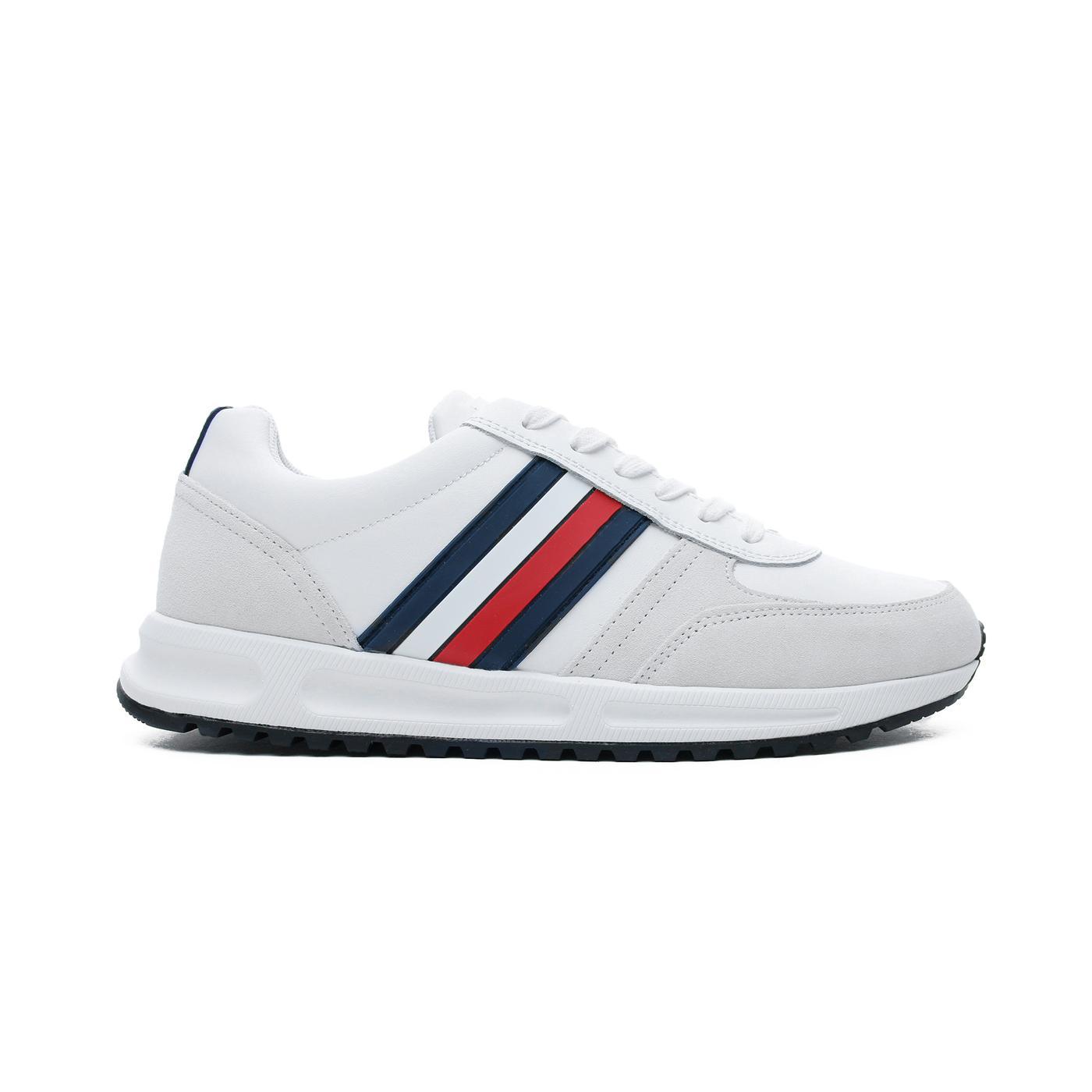 Tommy Hilfiger Erkek Beyaz Spor Ayakkabı