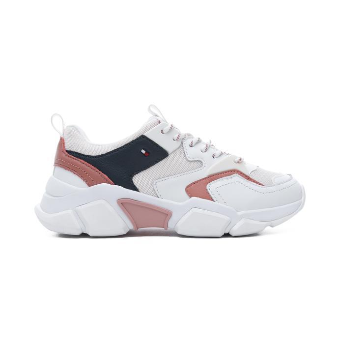 Tommy Hilfiger Chunky Lifestyle Kadın Kırmızı Spor Ayakkabı
