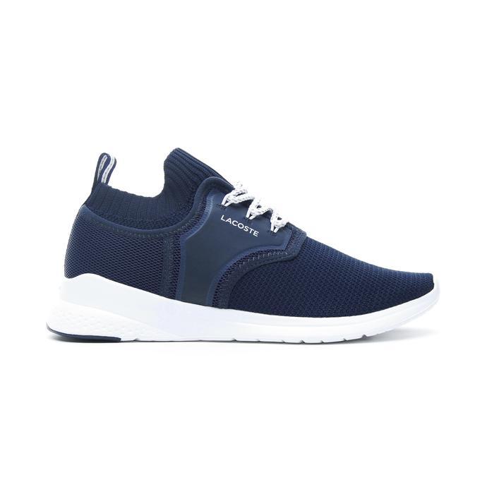 Lacoste Lt Sense Erkek Lacivert - Beyaz Spor Ayakkabı