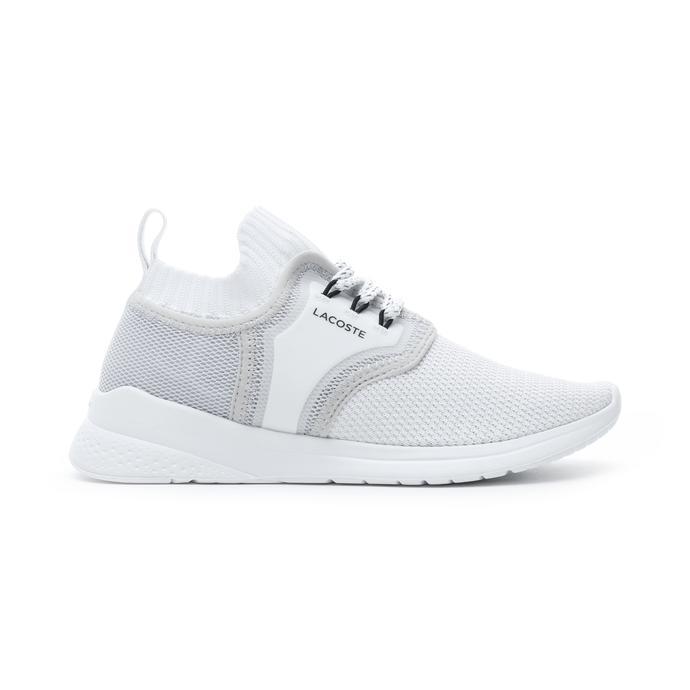 Lacoste Lt Sense Kadın Beyaz - Açık Gri Spor Ayakkabı