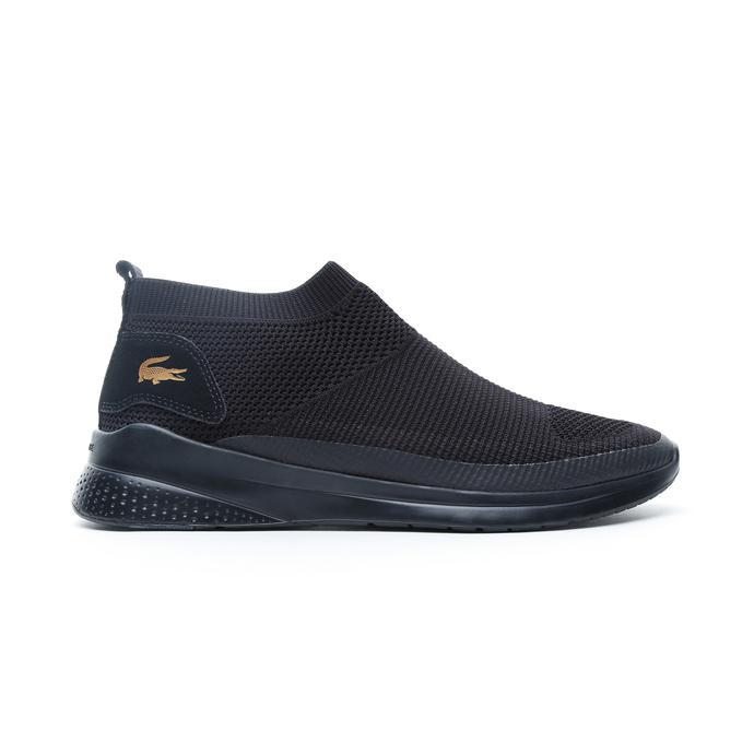 Lacoste Lt Fit Sock 120 2 Sma Erkek Siyah Spor Ayakkabı