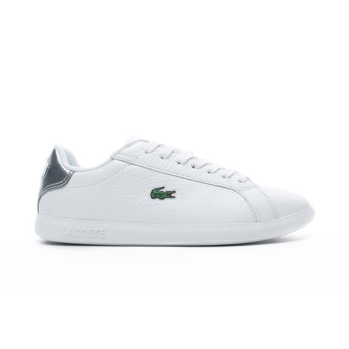 Lacoste Graduate Kadın Beyaz - Gri Spor Ayakkabı