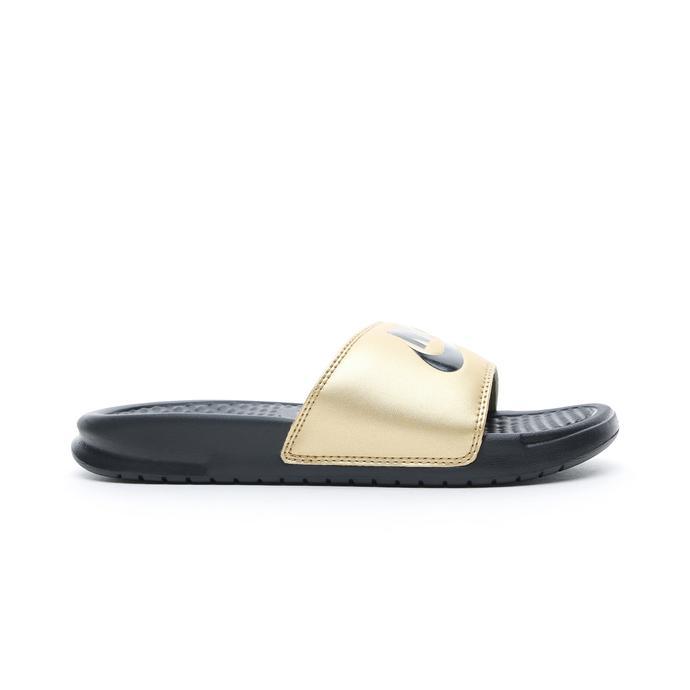 Nike Benassi JDI Kadın Altın Terlik