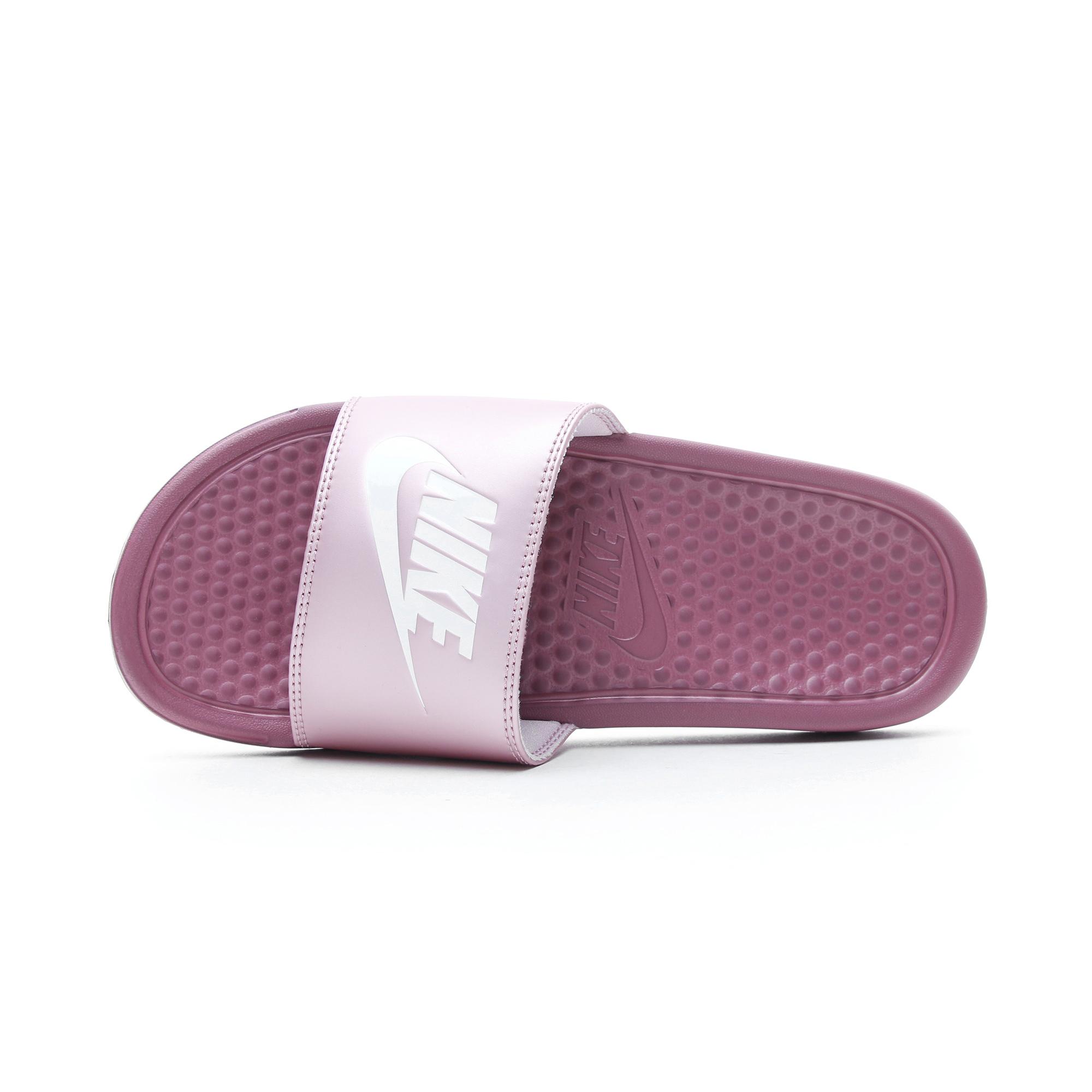 Nike Benassi JDI Kadın Mor Terlik