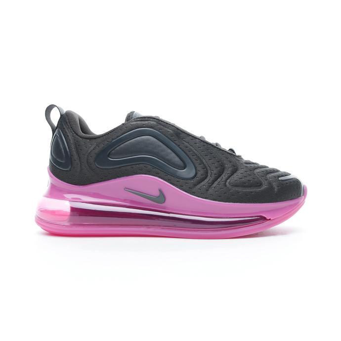 Nike Air Max 720 Kadın Siyah-Mor Spor Ayakkabı