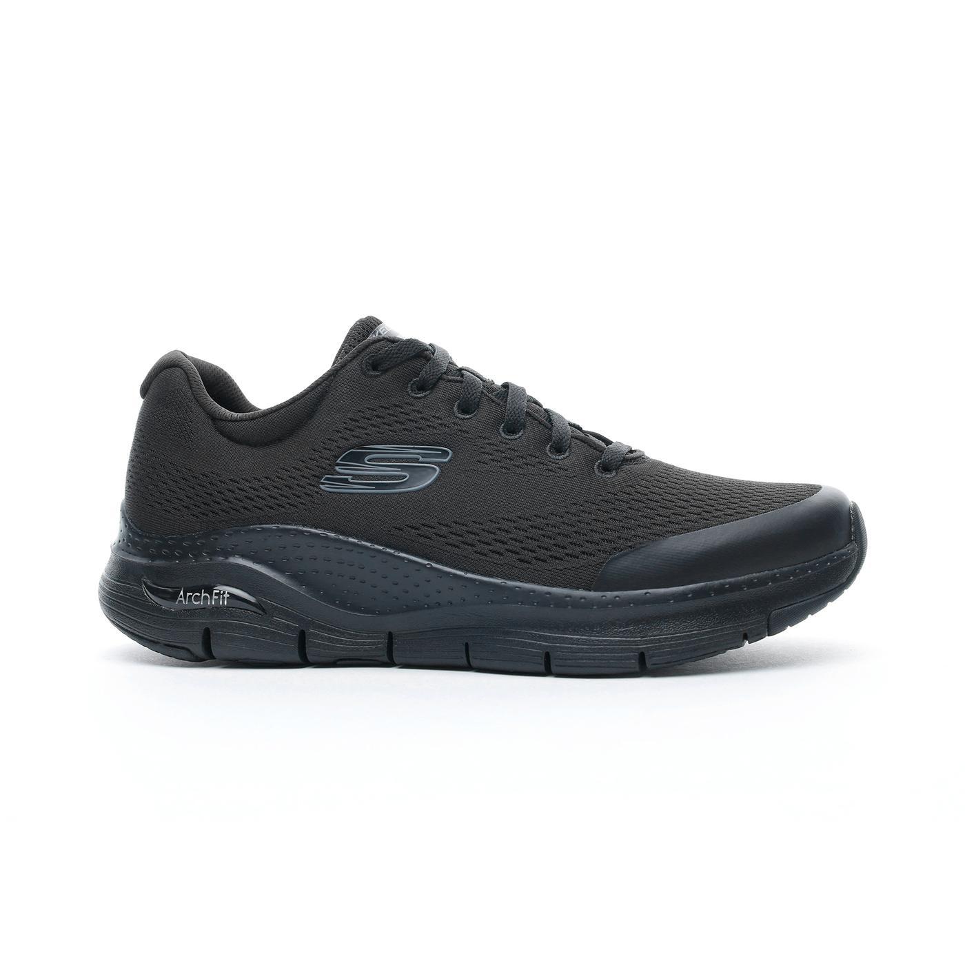 Skechers Arch Fit Erkek Siyah Spor Ayakkabı