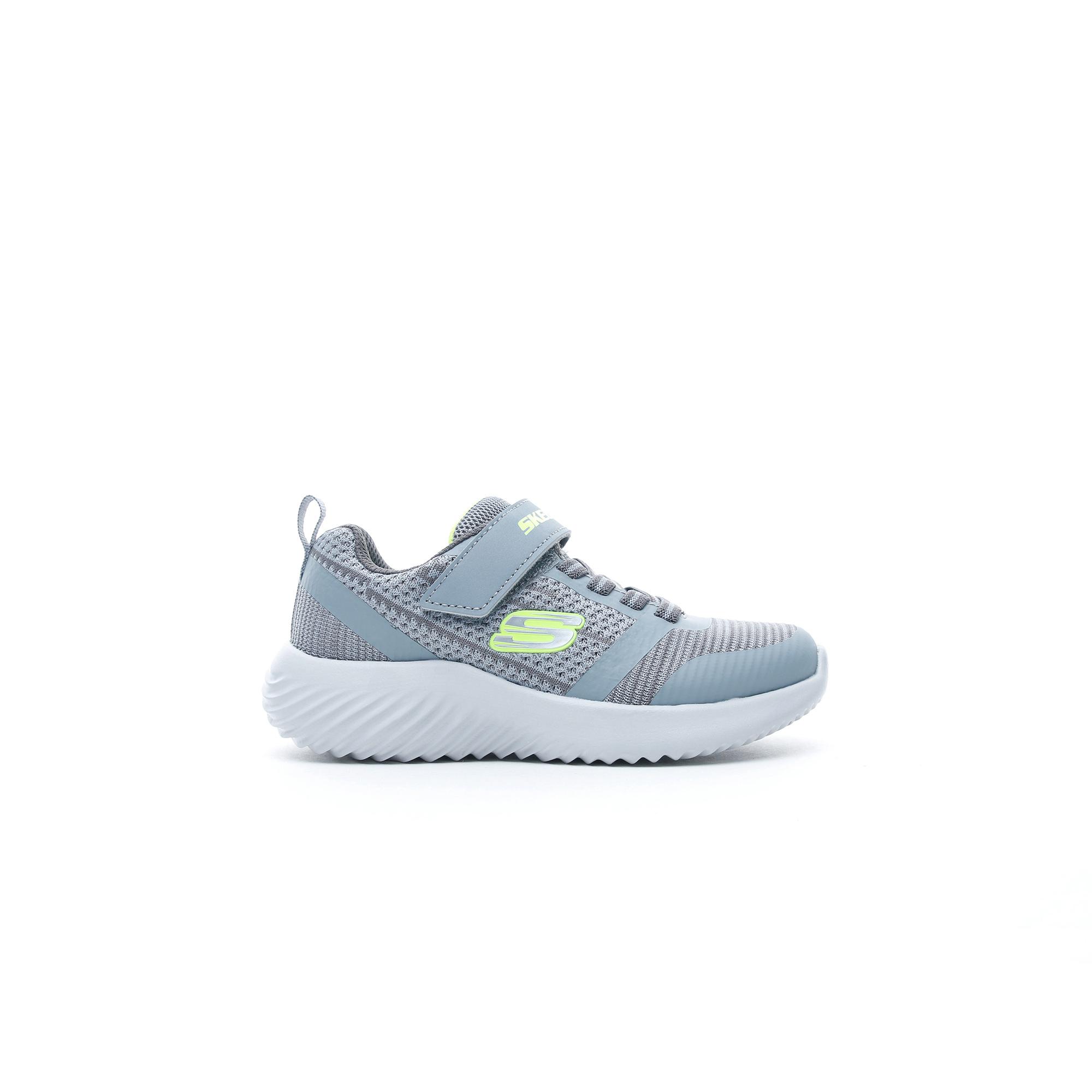Skechers Bounder - Zallow Çocuk Gri Spor Ayakkabı