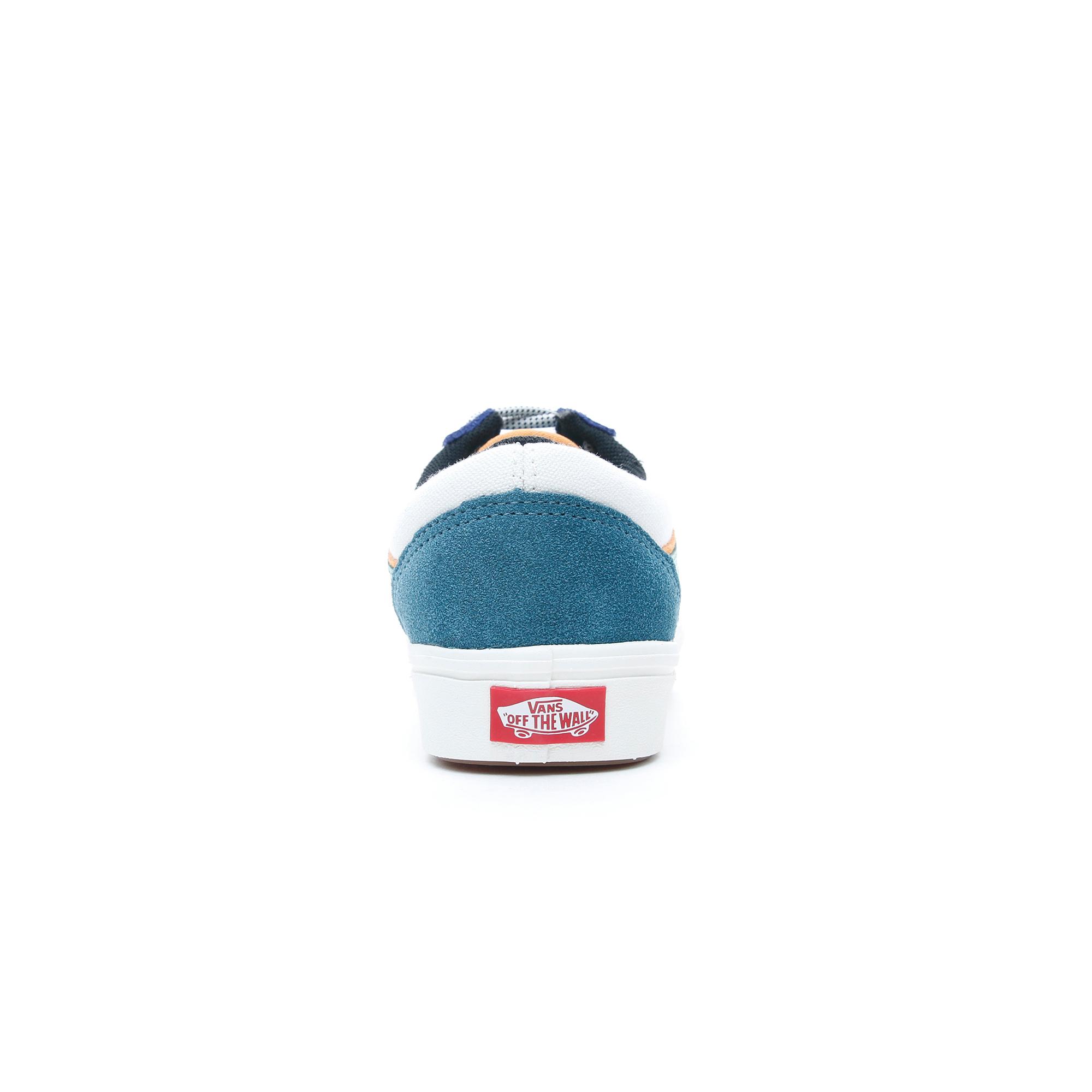 Vans ComfyCush Old Skool Kadın Mavi-Yeşil Sneaker