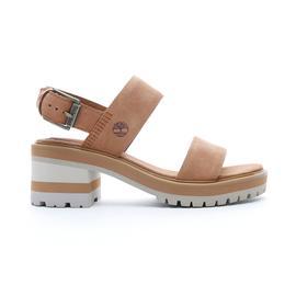 Timberland Violet Mars 2 Band Sandal Kadın Kahverengi Sandalet