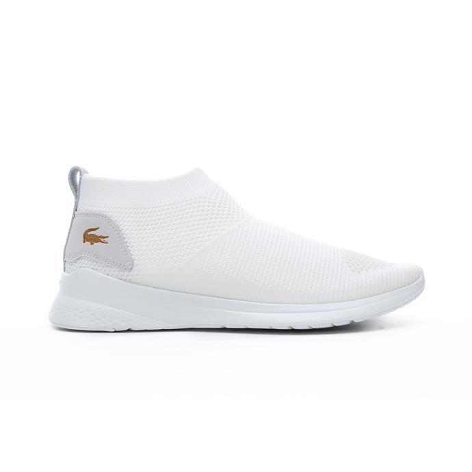 Lacoste Lt Fit Sock 120 2 Sma Erkek Beyaz Spor Ayakkabı
