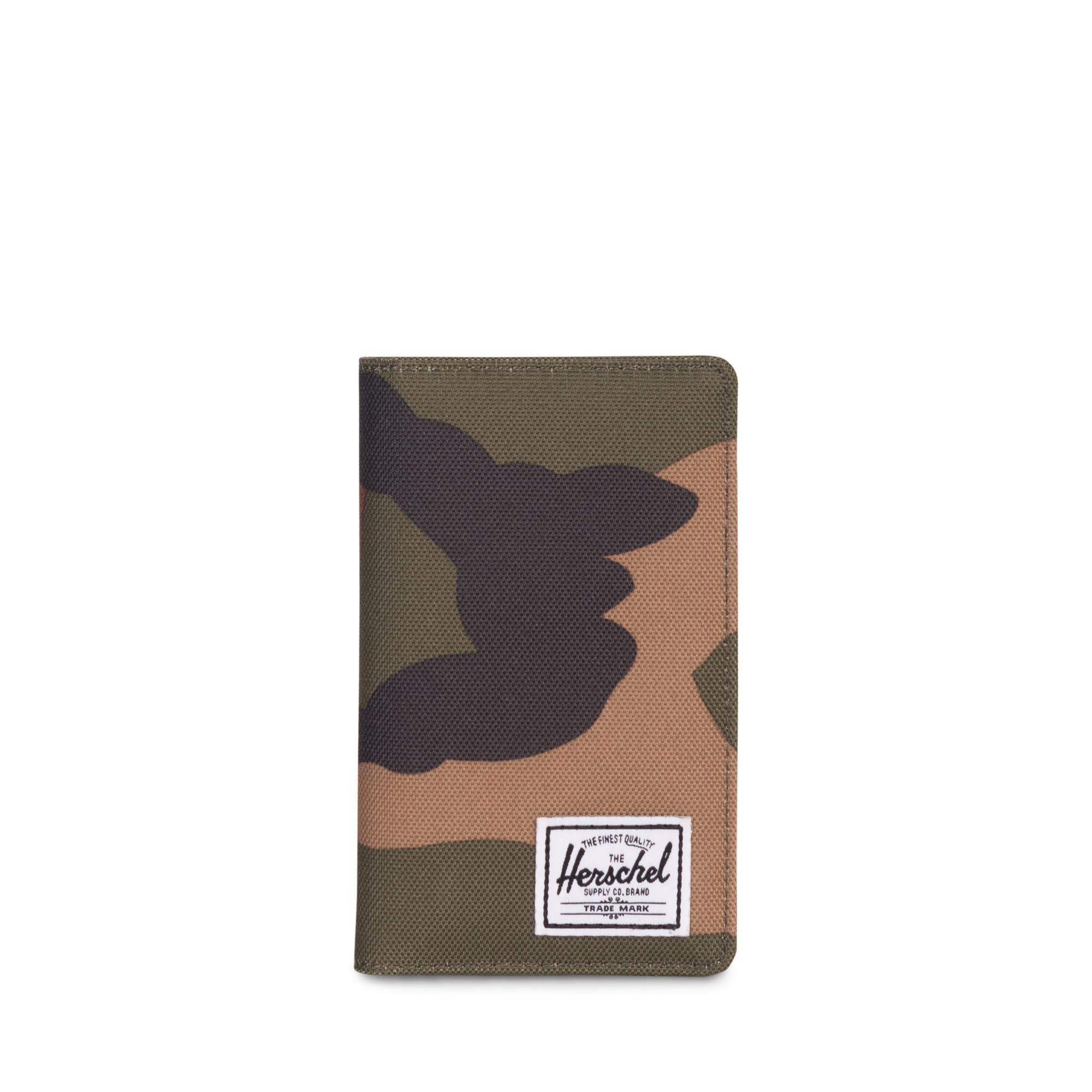 Herschel Frank RFID Unisex Yeşil Cüzdan