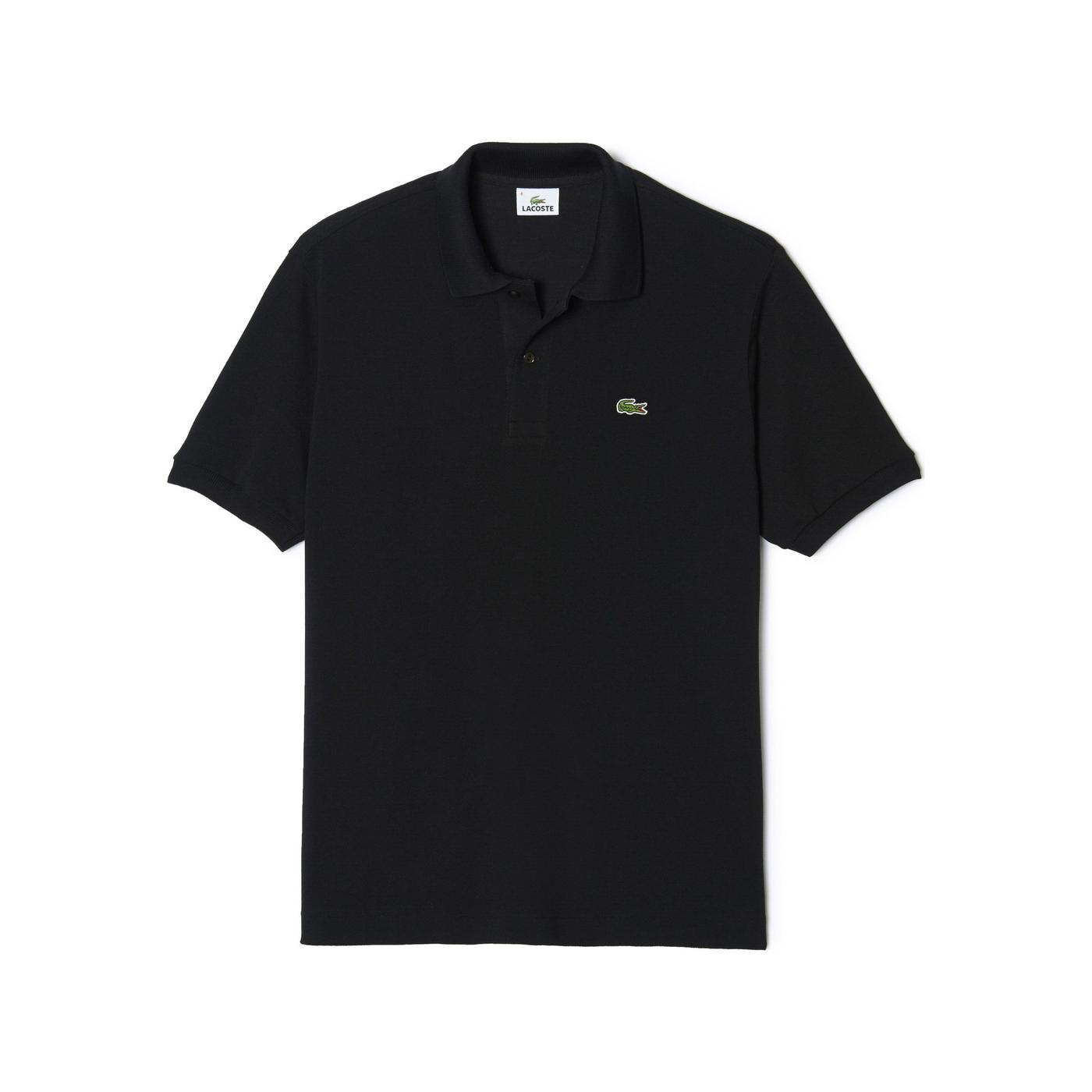 Lacoste L1212 Erkek Siyah Regular Polo