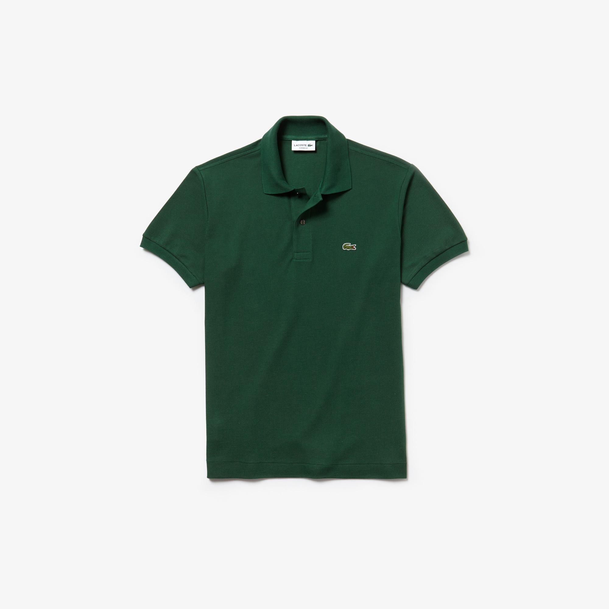 Lacoste Erkek Yeşil Regular Polo