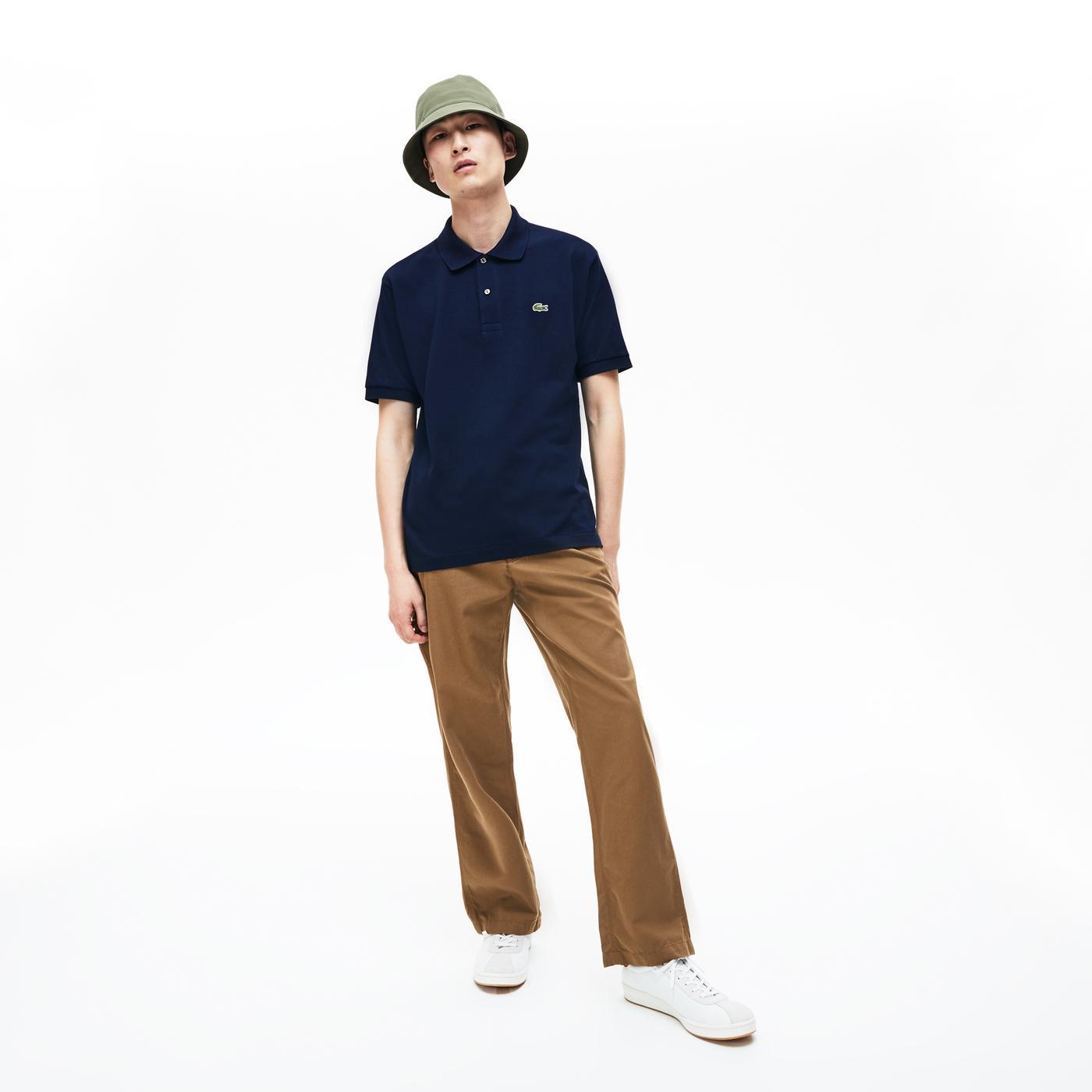 Lacoste L1212 Erkek Lacivert Regular Polo