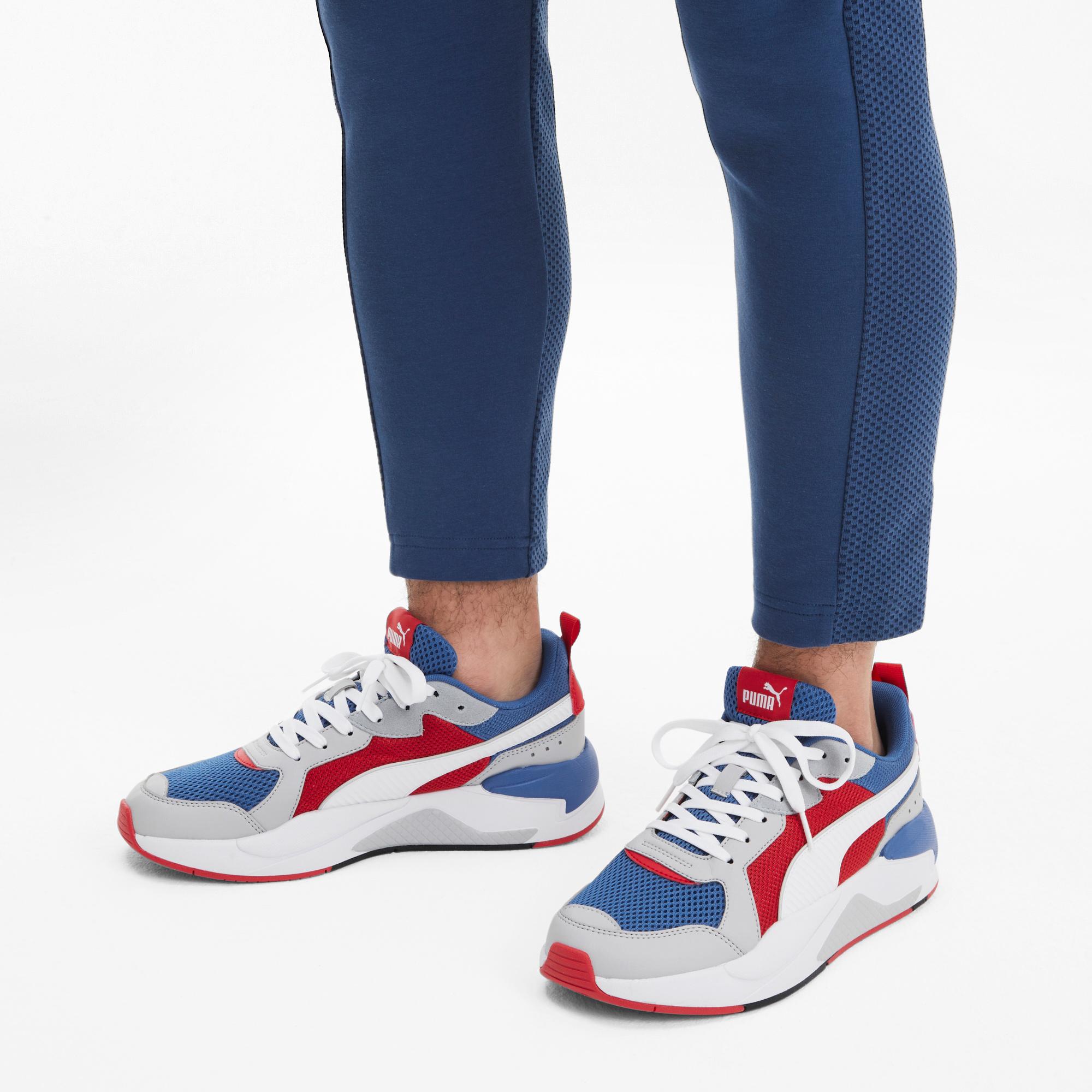 Puma X-Ray Erkek Gri-Lacivert Spor Ayakkabı