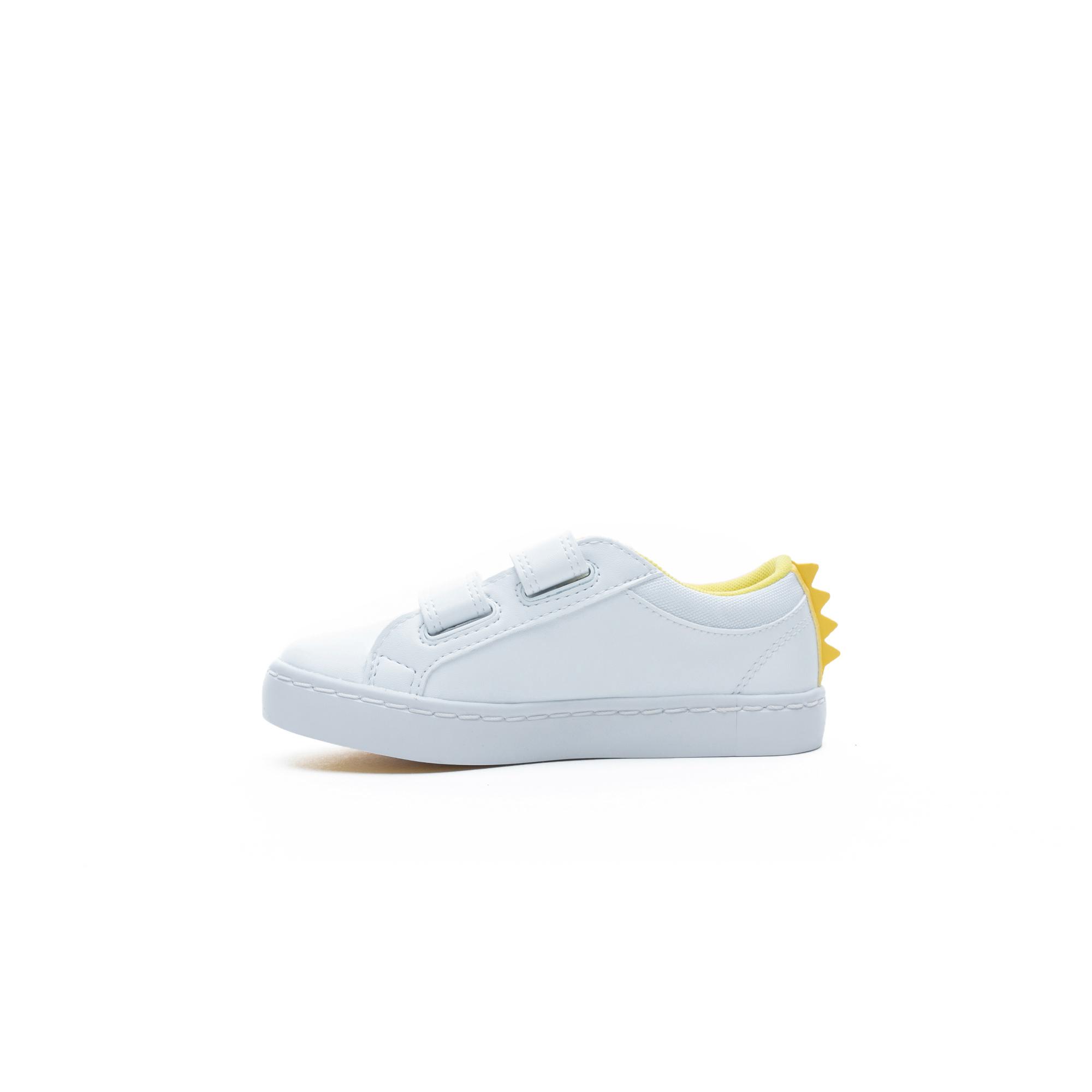Lacoste Straightset 120 1 CUI Çocuk Beyaz Spor Ayakkabı