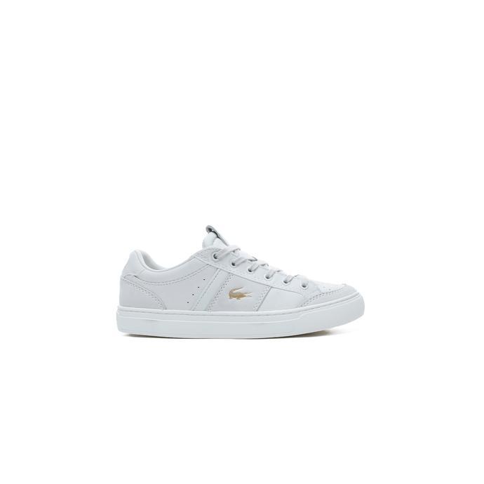 Lacoste Courtline 120 1 US CFA Kadın Beyaz Spor Ayakkabı