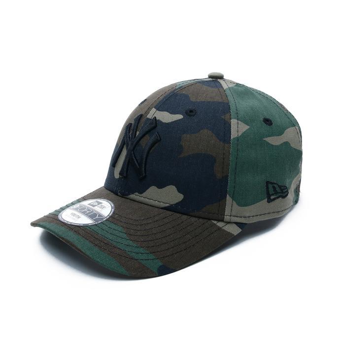 New Era New York Yankees Essential 9FORTY Çocuk Yeşil Şapka