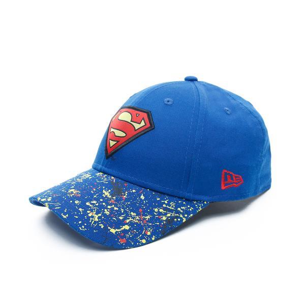 New Era Superman Çocuk Mavi Şapka