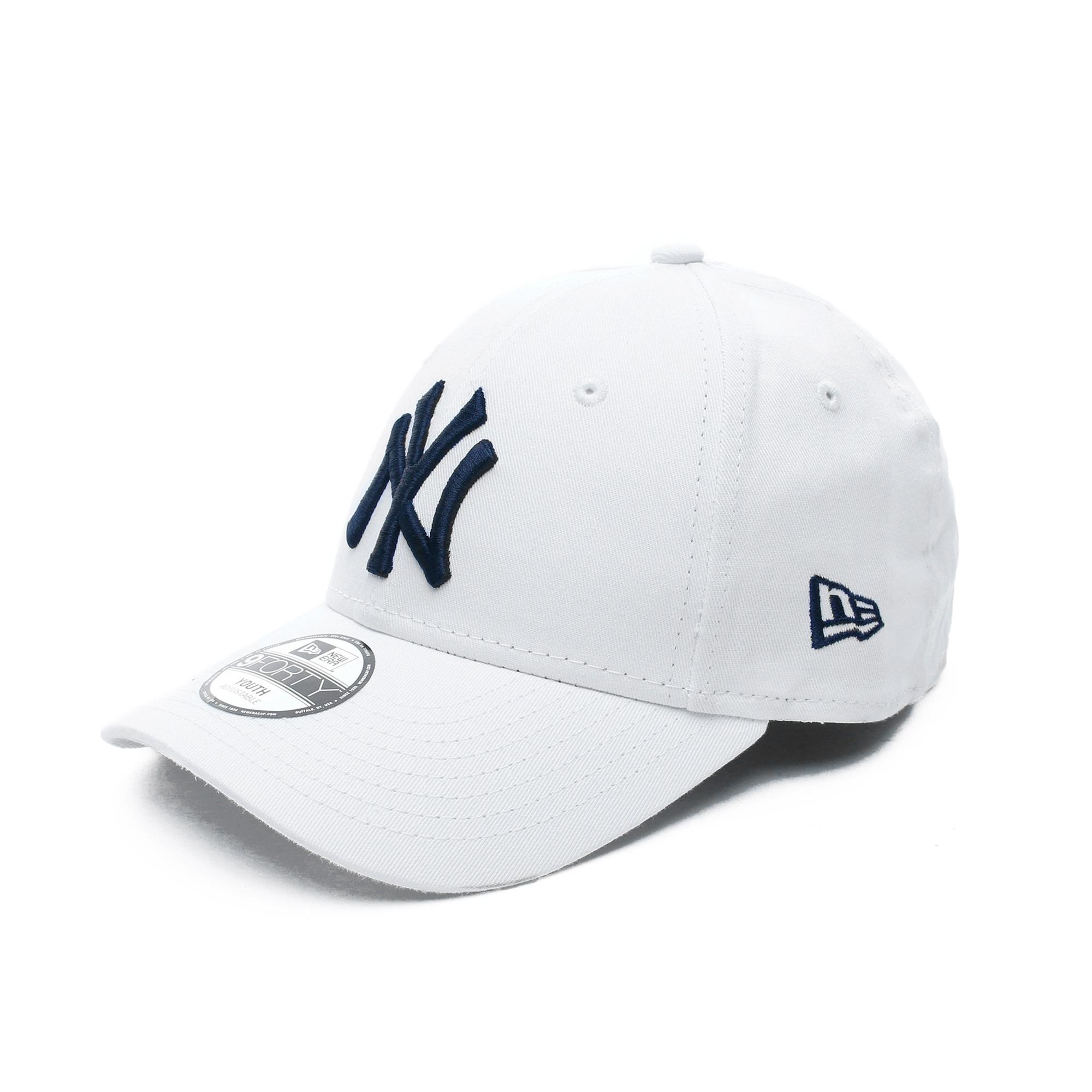 New Era New York Yankees Essential Çocuk Beyaz Şapka