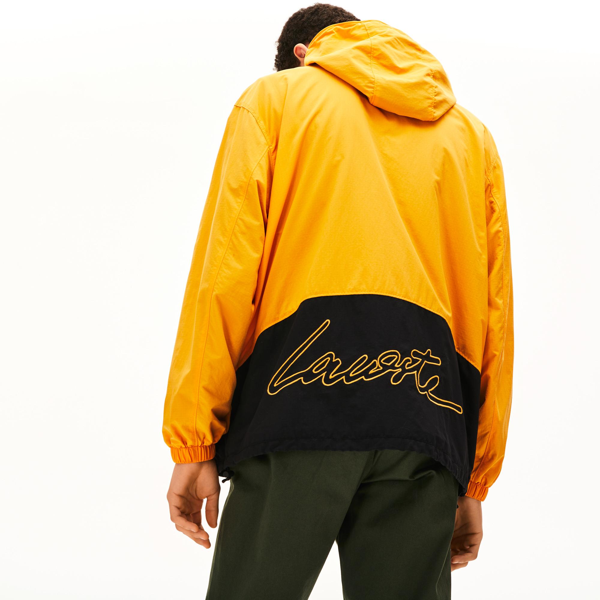 Lacoste LIVE Unisex Sarı Yağmurluk