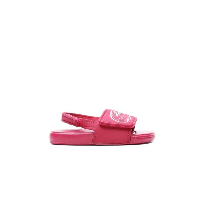 Lacoste Çocuk Koyu Pembe - Beyaz Sandalet