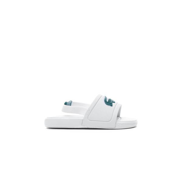 Lacoste Çocuk Beyaz - Yeşil Sandalet