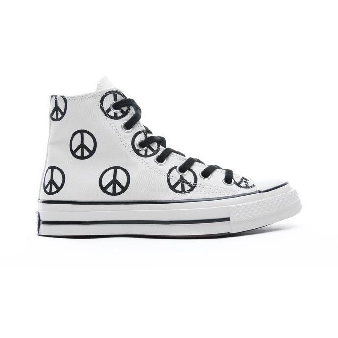 Converse Unleash Peace Chuck 70 Hi Unisex Krem Sneaker