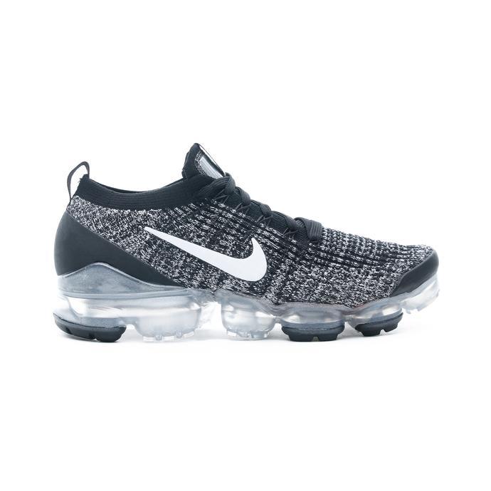 Nike Air VaporMax Flyknit Erkek Siyah Spor Ayakkabı