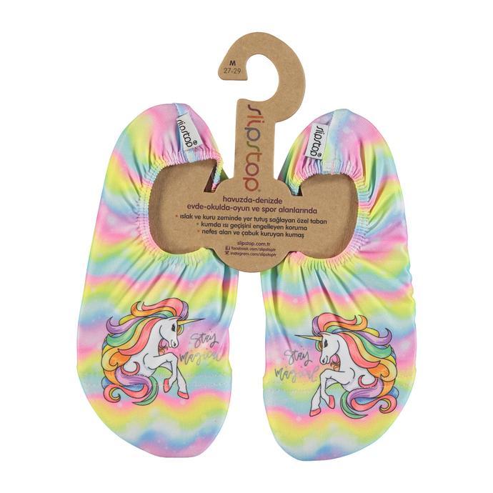 Slipstop Magical Çocuk Krem Havuz Ayakkabısı
