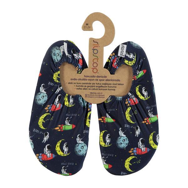 Slipstop Astro Çocuk Siyah Havuz Ayakkabısı