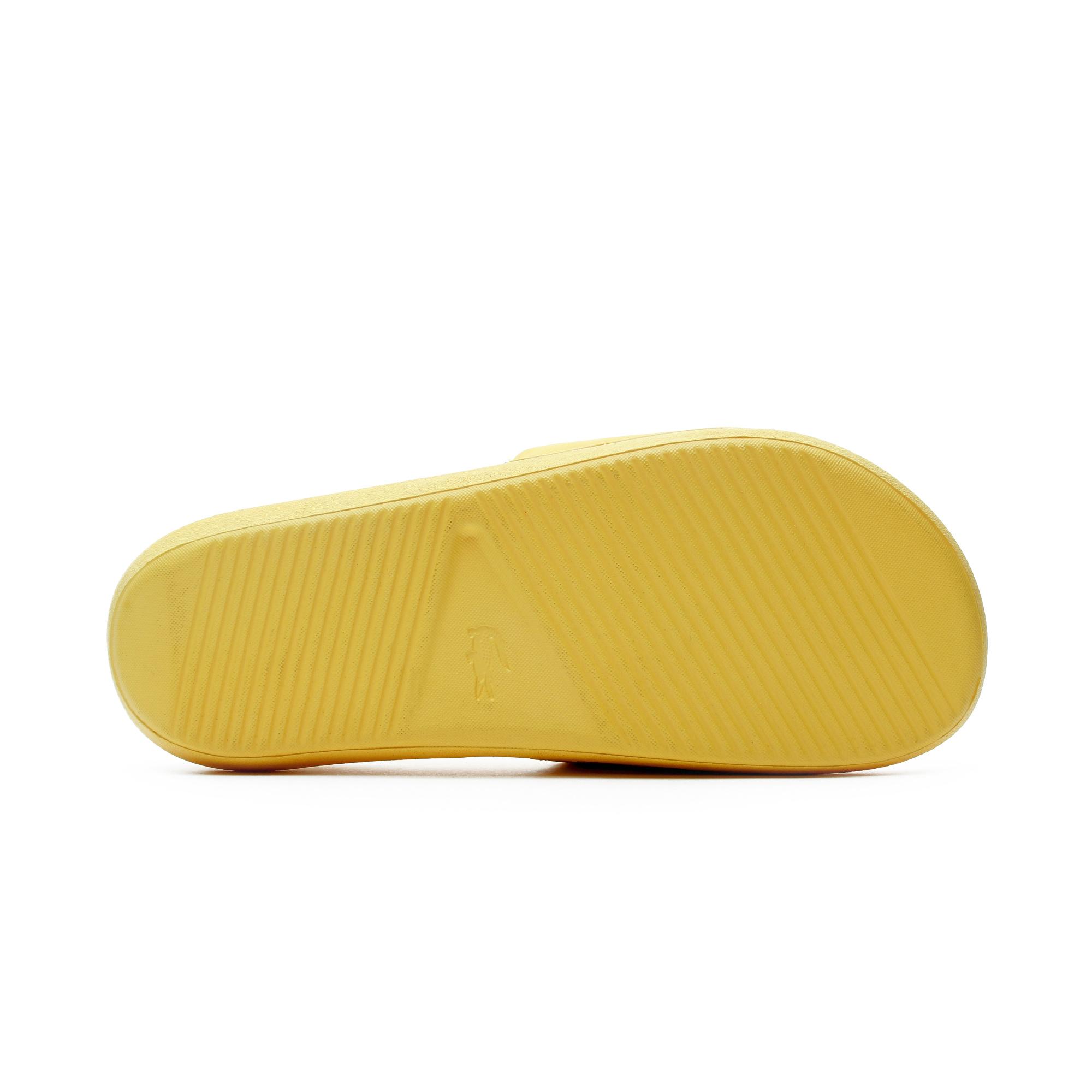 Lacoste Croco Kadın Sarı Terlik