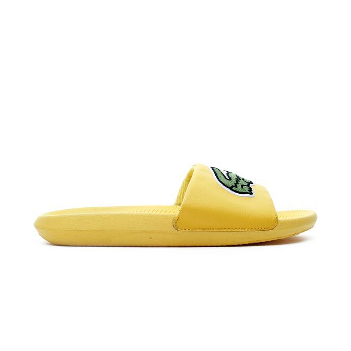 Lacoste Croco Erkek Sarı Terlik