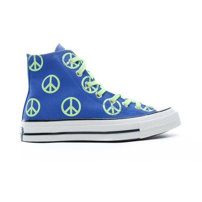 Converse Unleash Peace Chuck 70 Hi Kadın Mavi Sneaker