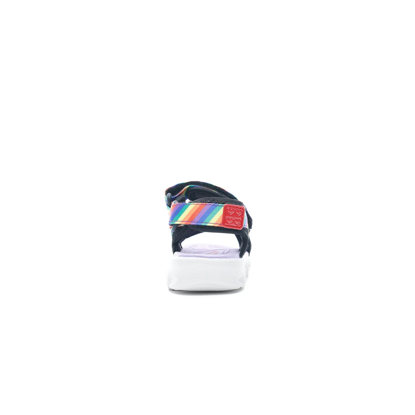 Skechers Hypno Splash - Rainbow Lights Bebek Siyah Sandalet