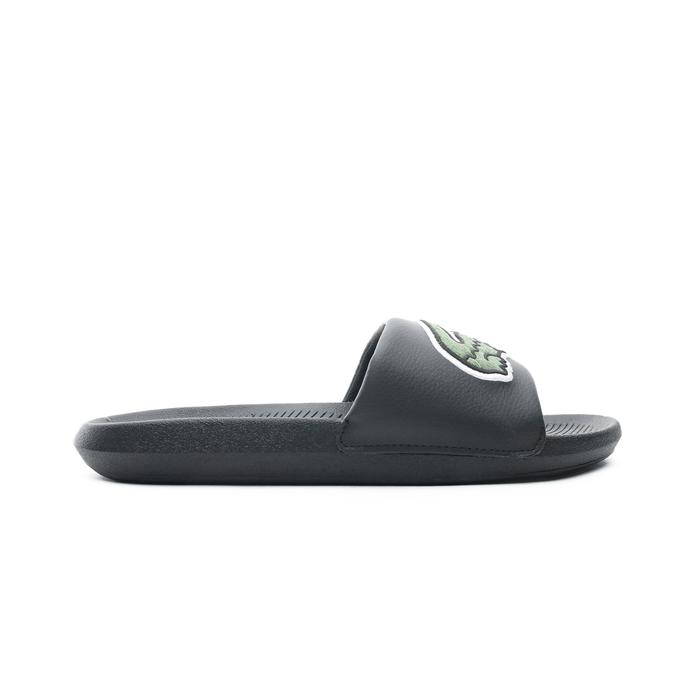 Lacoste Croco Slide Erkek Siyah - Yeşil Terlik