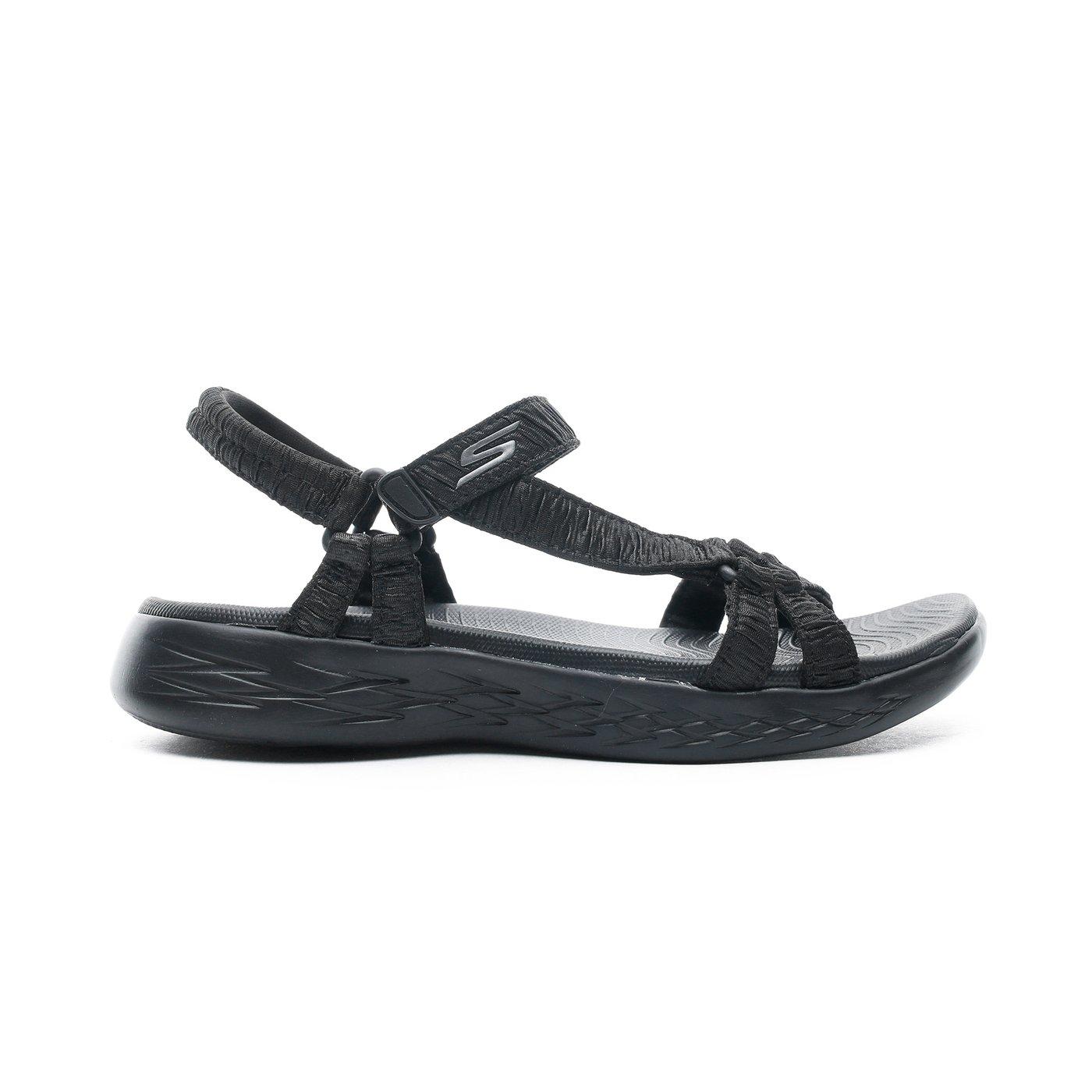 Skechers On the Go 600 Kadın Siyah Sandalet