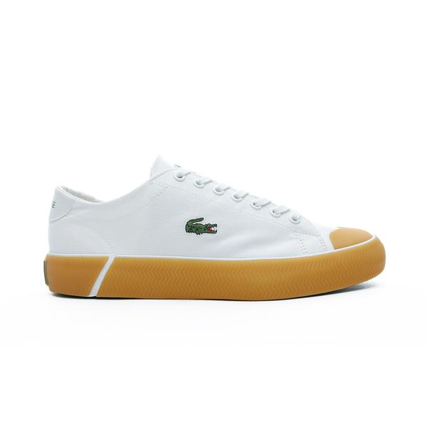 Lacoste Gripshot  Erkek Beyaz - Sarı Spor Ayakkabı