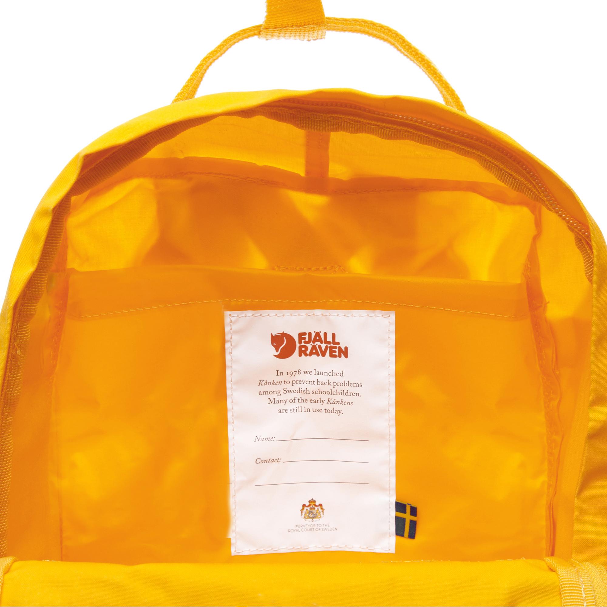 Kanken Mini Sarı Unisex Sırt Çantası