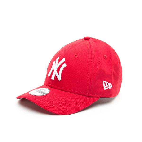New Era 940 NY Yankees Çocuk Kırmızı Şapka
