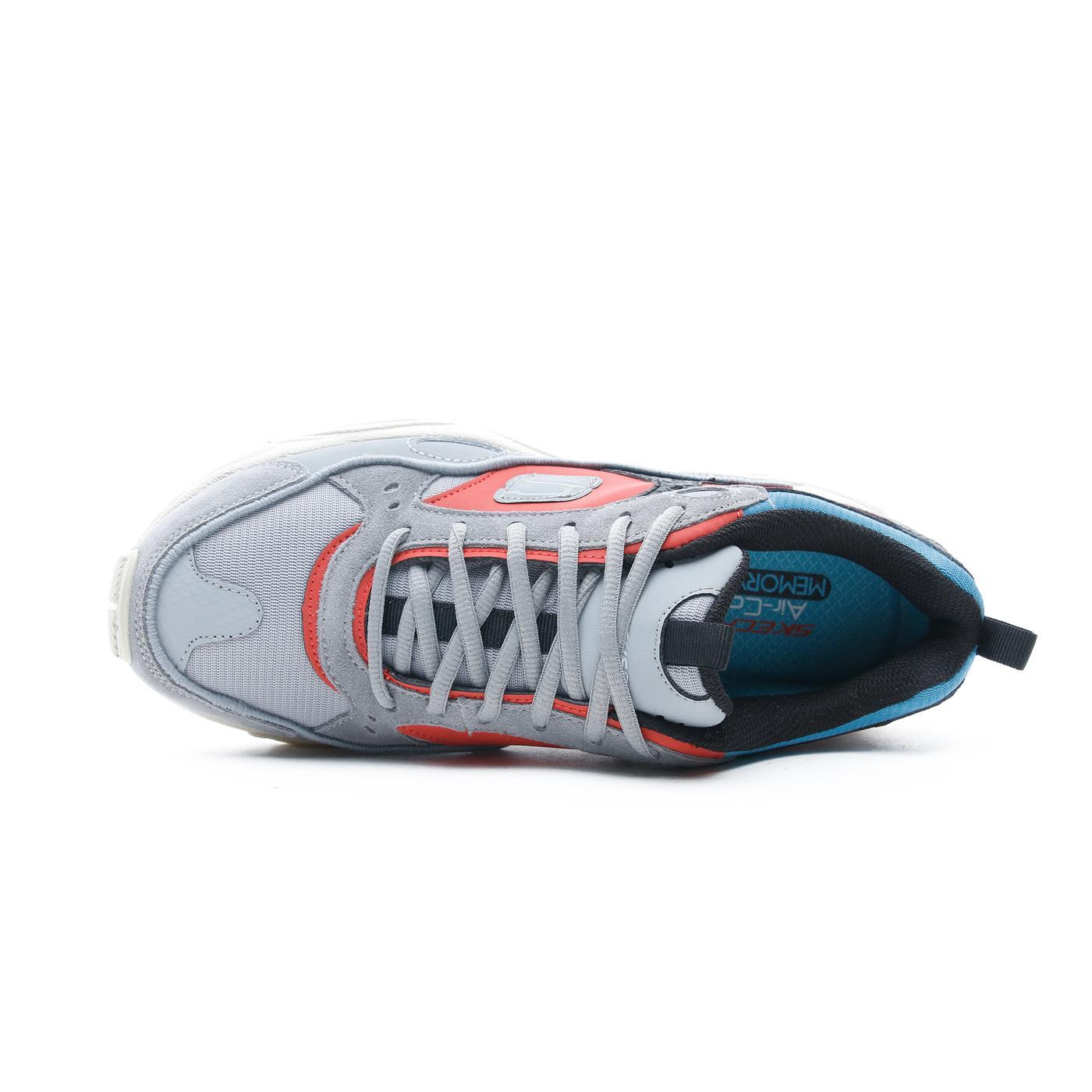Skechers Stamina Contic Erkek Gri Spor Ayakkabı
