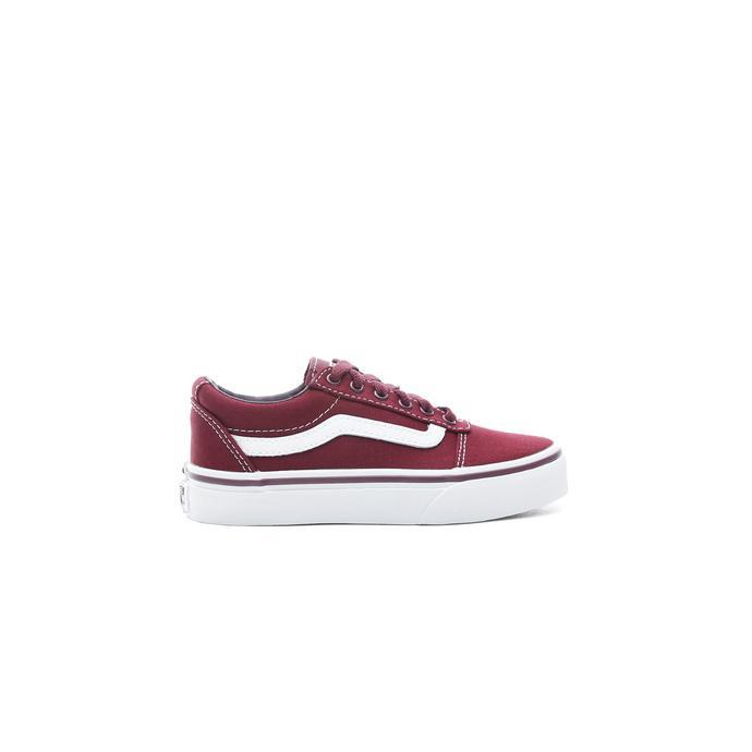 Vans YT Ward Çocuk Bordo Sneaker
