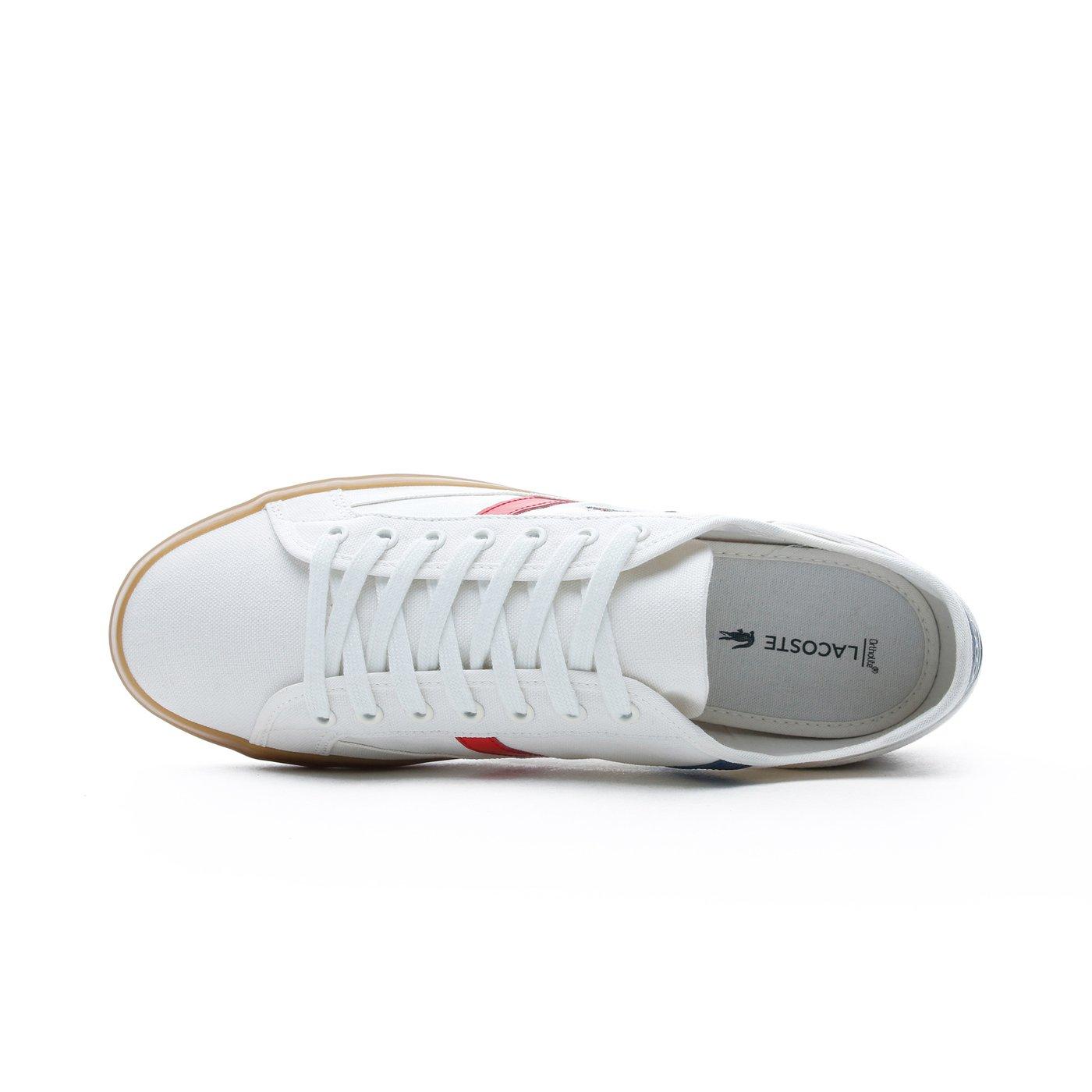 Lacoste Erkek Beyaz - Gri Spor Ayakkabı